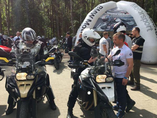 Wyprawa Zlot BMW Motorrad - Trasa turystyczna - Golczewo, Recław, Wicko, Trzęsacz - zdjęcie 3