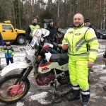 Nordkapp zimą - śniegiem po oczach - całość - zdjęcie z wyprawy